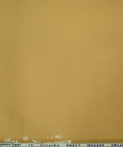 Raymond Men's Cotton Solids  Unstitched Trouser Fabric (Granola Beige)