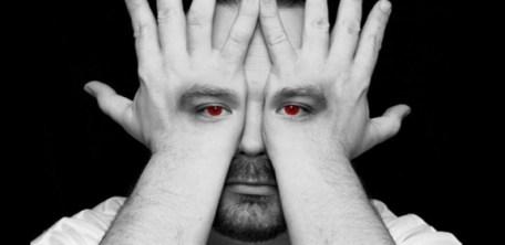 Man-Faking-Hiding-His-Eyes