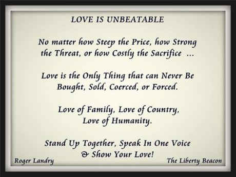 Love is unbeatable
