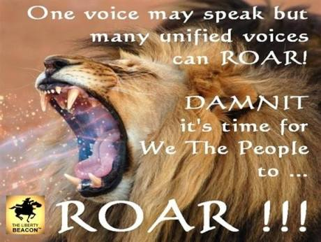 One voice may speak
