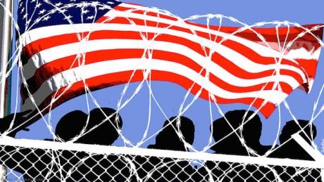Flage imprisoned