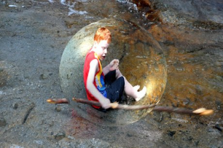 Child in a Bubble