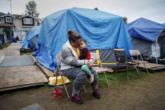 tent-cities Seatle