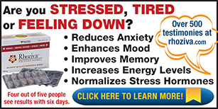 Are you stressed, tired, or feeling down? Rhoziva reduces anxiety, enhances mood, improves memory, increases energy levels, and normalizes stress hormones.