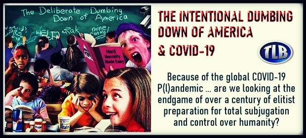 THE INTENTIONAL DUMBING DOWN OF AMERICA & COVID-19 – FI 04 19 21-min