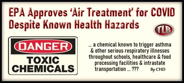 EPA Approves Air Treatment for COVID Despite Known Health Hazards – FI 02 29 21-min