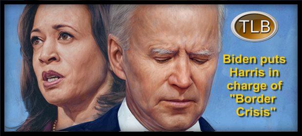 Biden taps Harris border feat 3 25 21