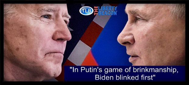 Biden blinks Putin ZH feat 4 15 21