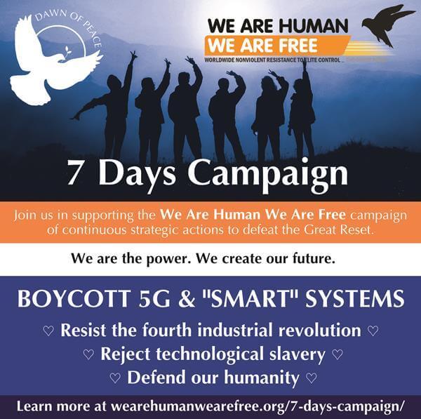WAHWAF-7Days-Boycott 5G flyer, 13 Aug 2021 – small