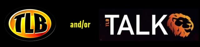 TLB & Talk logos