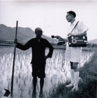 RTHK in rice field-1 B
