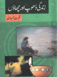 Zindagi Dhoop Aur Chaon Novel By Nighat Abdullah Pdf