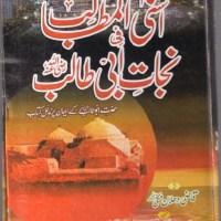 Nijat Abi Talib Urdu By Qazi Dahlan Makki Pdf