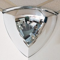 Security Mirrors - 90 Quarter Dome Security Mirrors