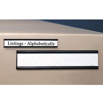 Shelf Label Holders  Inserts  Magnetic Shelf Label Holders
