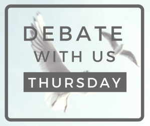 The Animal Edit - FB Post - Debate Thursday