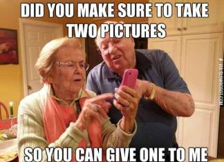 technology with old people