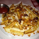 Chili Fries at Blue Moose Pizza