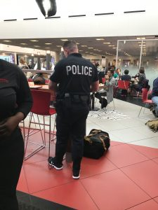 Robbery at LAX