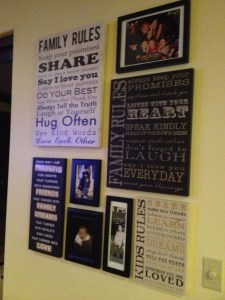 My wall from LIsa Oberst