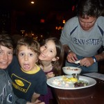 Dillman Kids at Beaver Creek Chop House