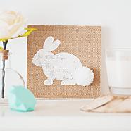 DIY schilderijtje voor Pasen