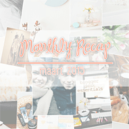 Monthly recap – maart 2015