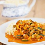 Recept groentecurry met couscous