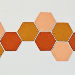DIY: honingraat prikbord