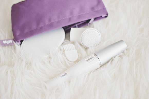 Braun face epilator + cleansing brush