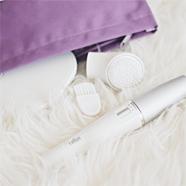 Braun face epilator cleansing brush