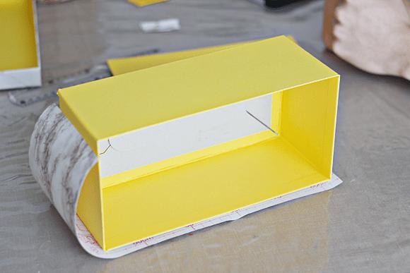 DIY marmeren opbergdozen