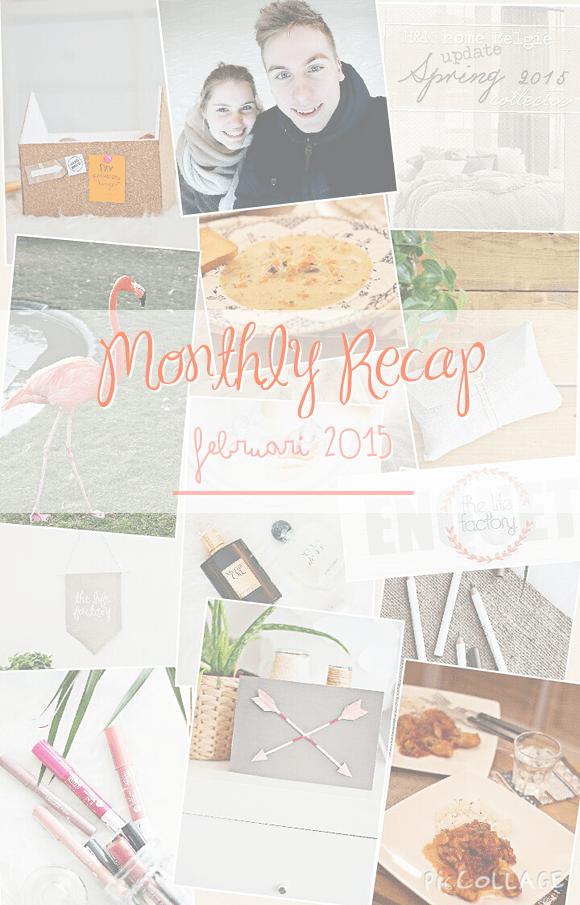 Monthly recap – februari 2015