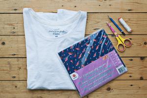 DIY basic shirt make-over