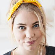 DIY haarband zonder naaien