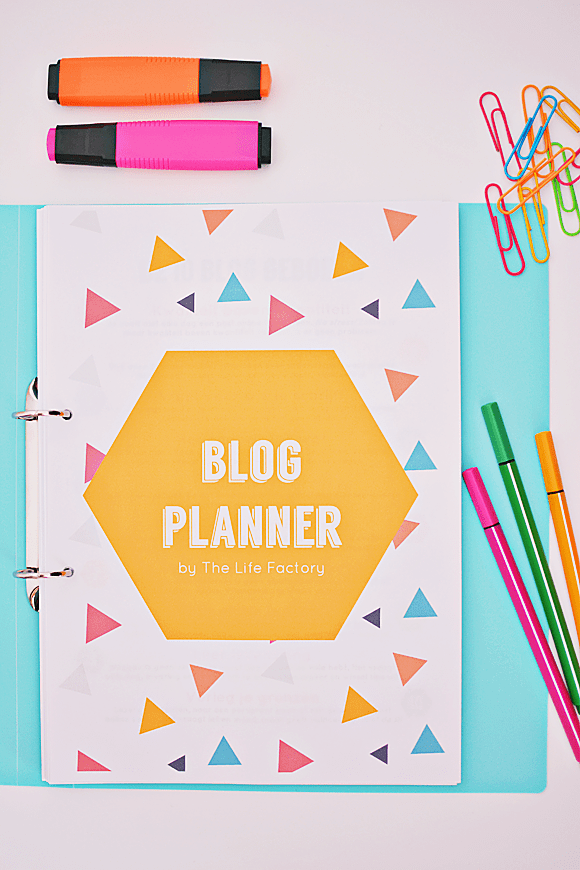 De Blog Planner Kit by The Life Factory