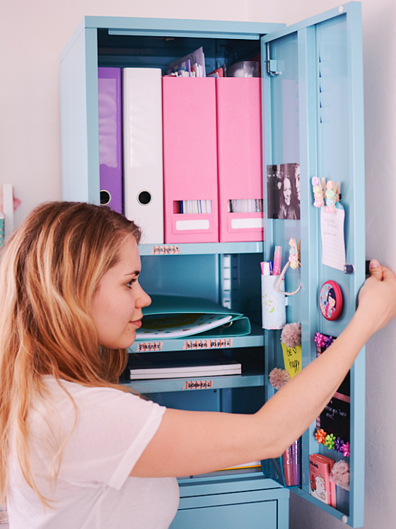 Back to school: locker decoratie DIY's!