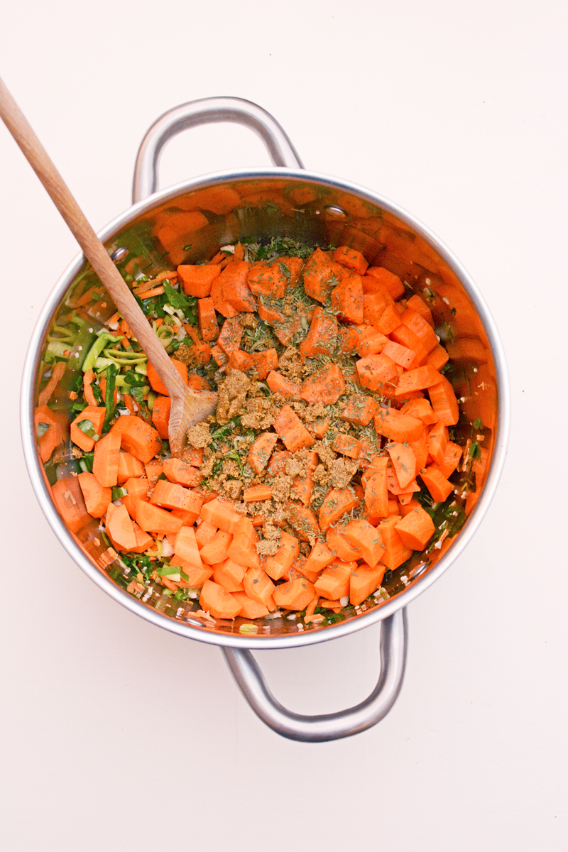 Supersnelle en lekkere wortelsoep