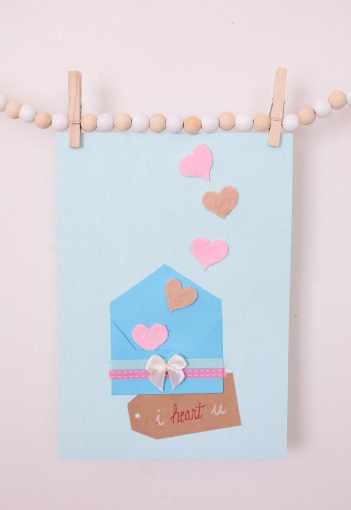 Een Valentijnskaart vol liefde! (+freebie!)