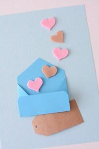 Een Valentijnskaart vol liefde