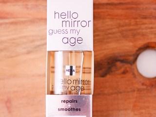 HEMA Hello mirror guess my age gezichtsolie