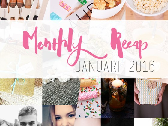 Monthly Recap januari 2016
