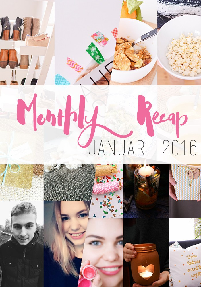 Monthly Recap – Januari 2016