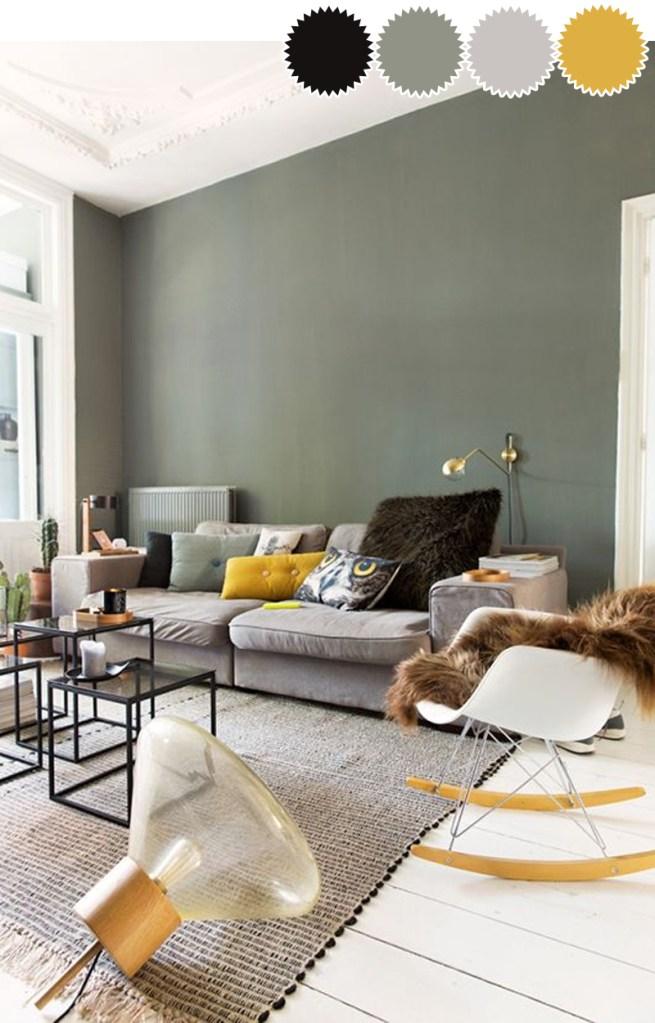 Een kamer in één kleurenpalet