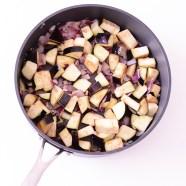 Een smaakvol stoofpotje met aubergine