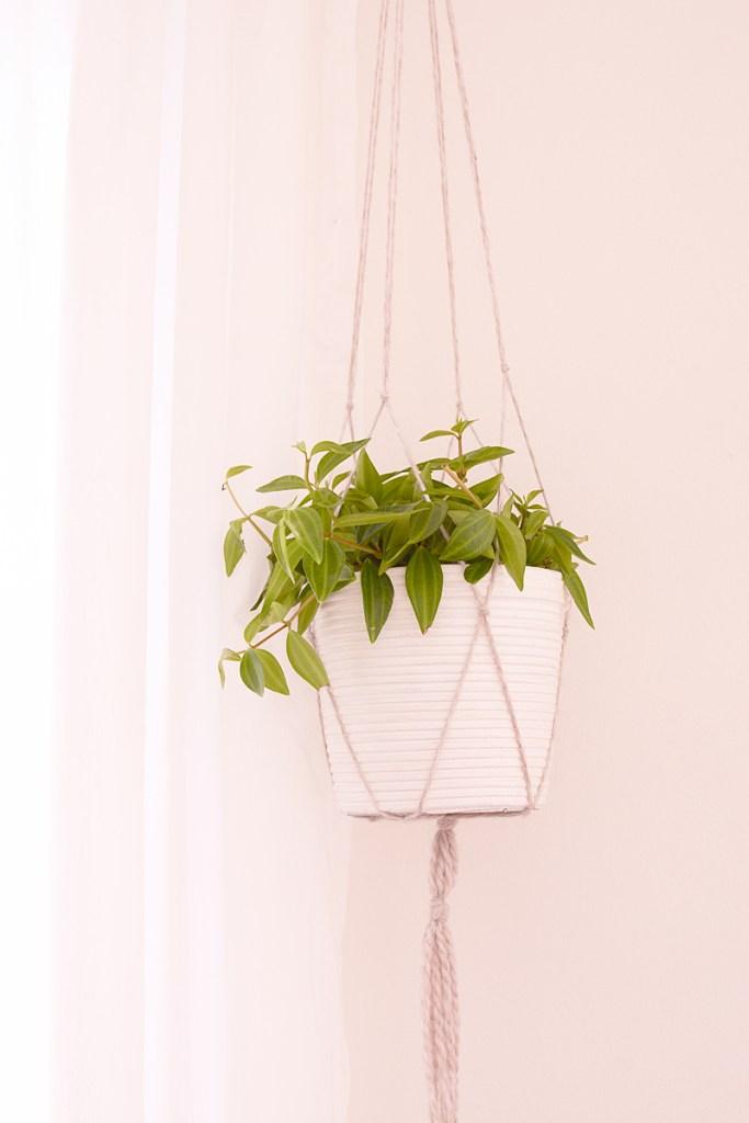 Liefde voor ... macramé plantenhangers