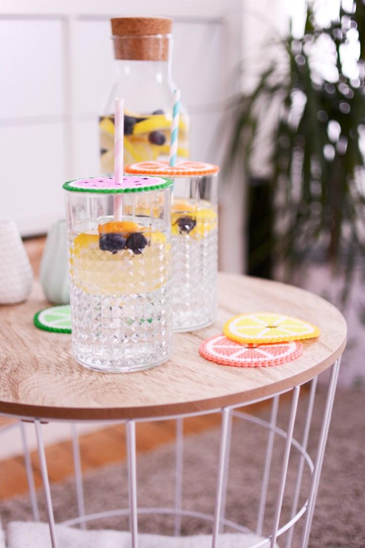 Zomerse en fruitige dekseltjes voor je glas