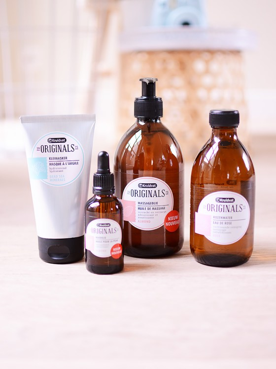Retro beautyproducten van Kruidvat