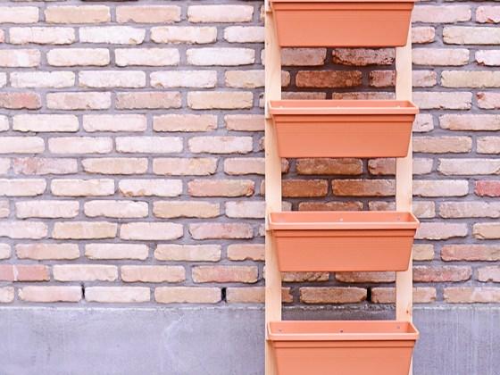 Een ladder vol kruiden