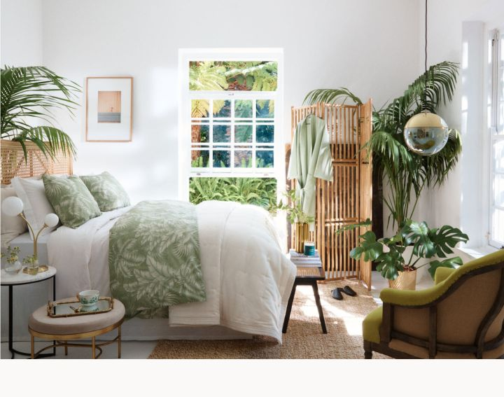 H&M Home golden green collectie